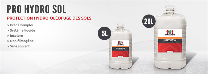 protection hydrofuge sols pro hydro sol